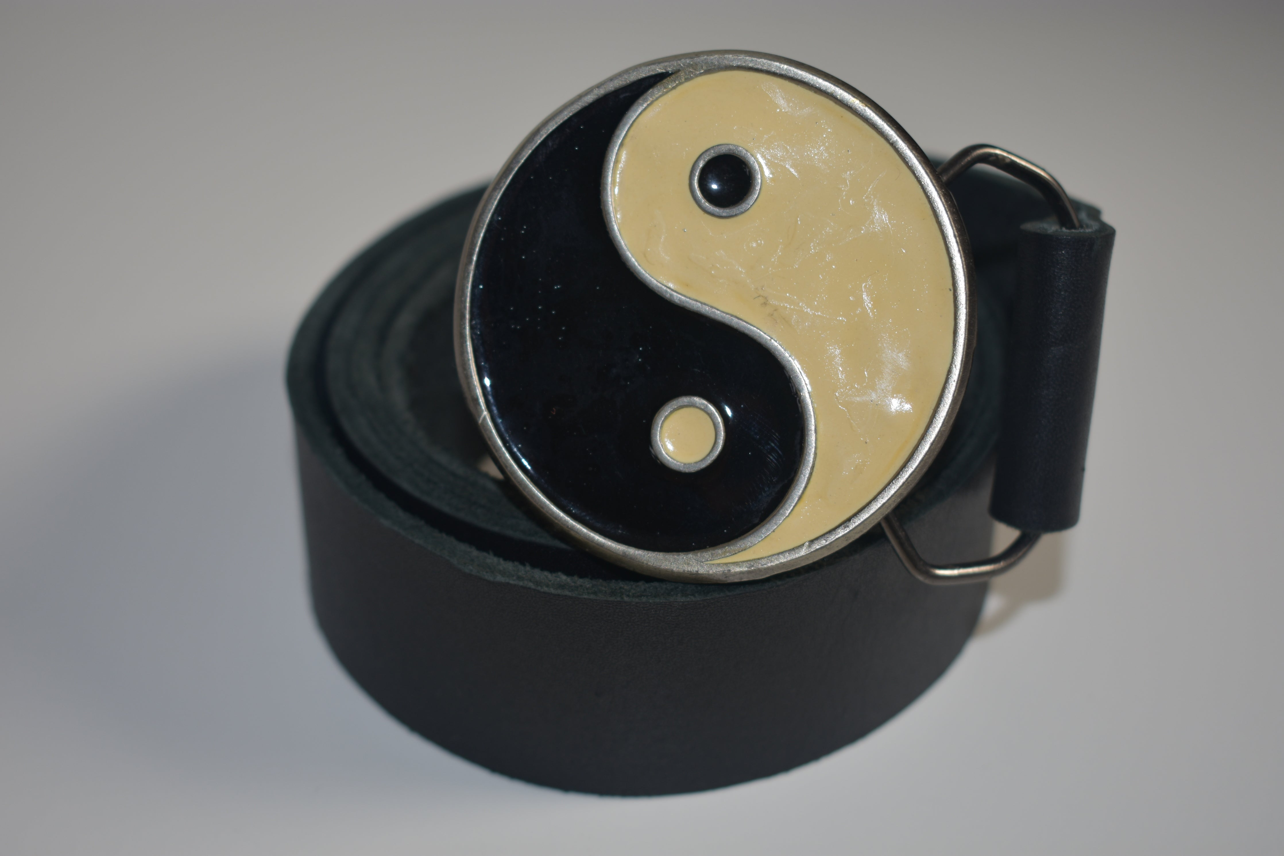 Custom Belt Buckles - Yin and Yang