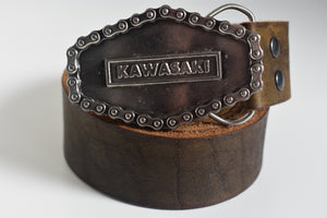 Custom Belt Buckles - Kawasaki