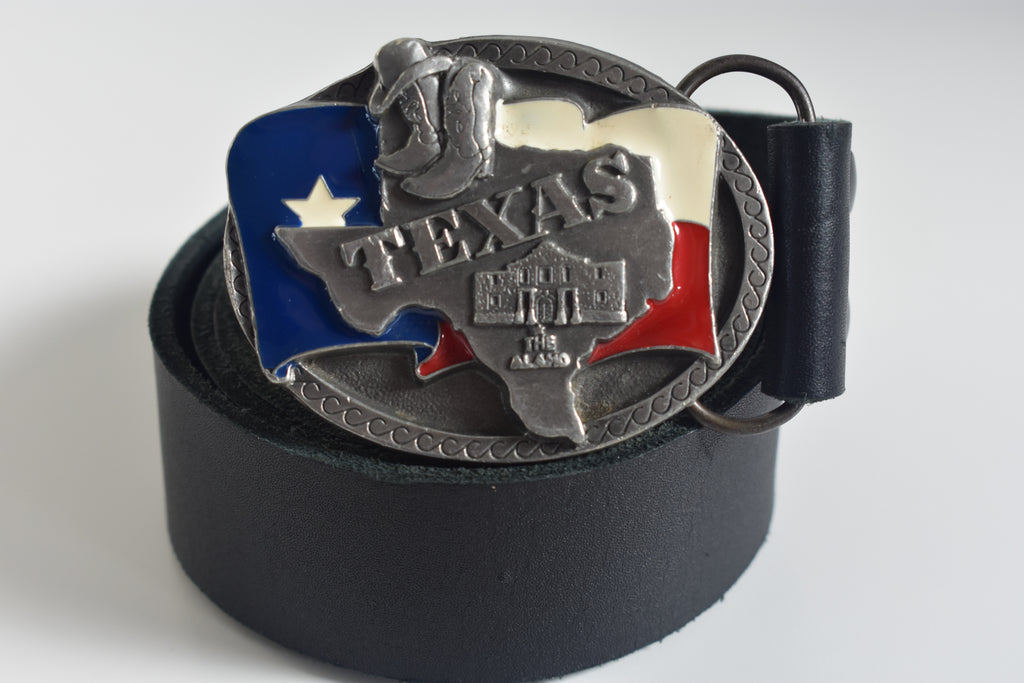 Custom Belt Buckles - Texas Inspired