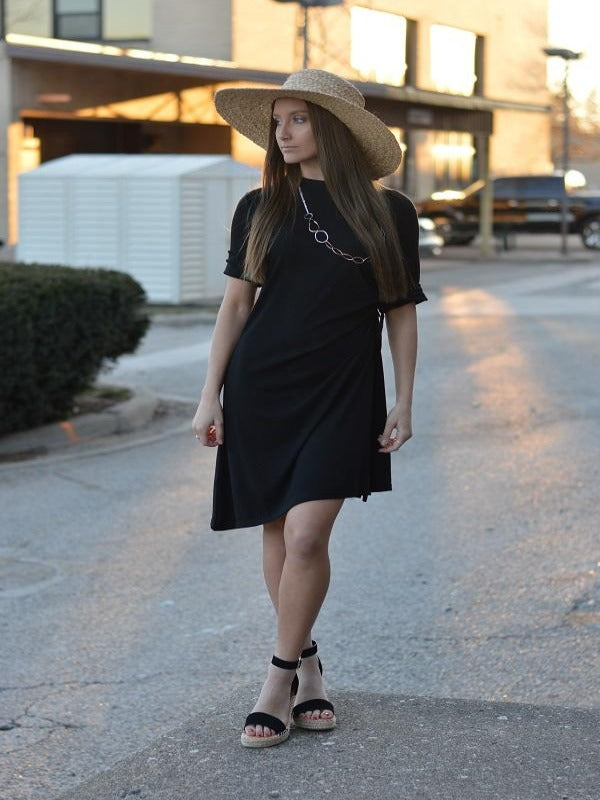 The Charlotte Simple Black Dress