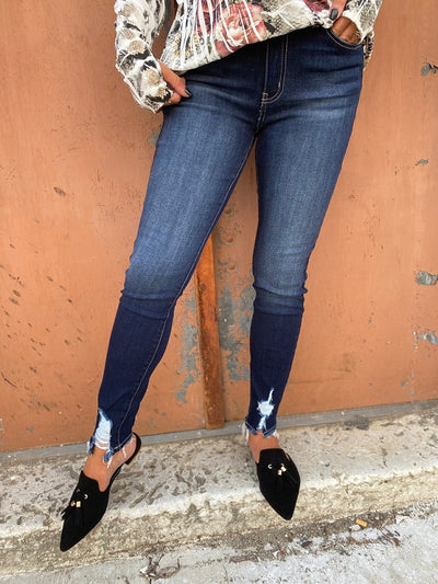 KanCan Dark Denim Super Skinny Jean