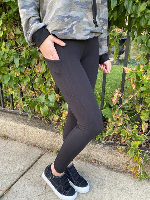 Memphis Black Leggings