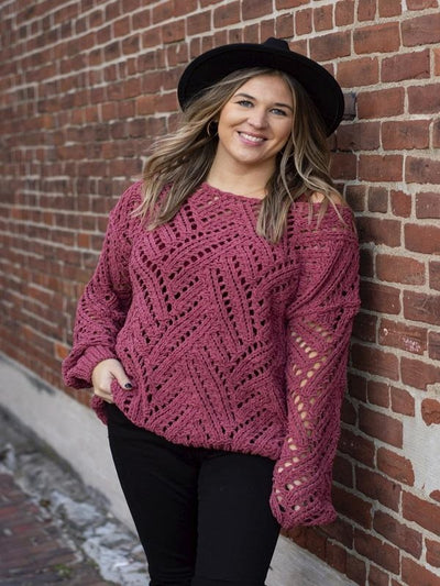 Gertrude Rose Sweater