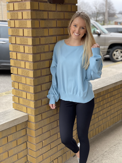 Gracie Maya(Sky Blue) Sweater