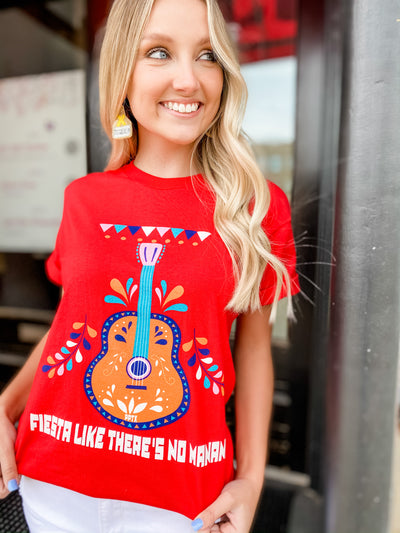 Fiesta Red Graphic Tee