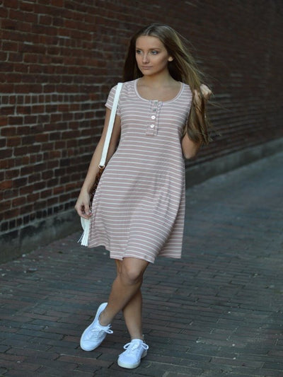 Relax A Little Stripe Dress 16170