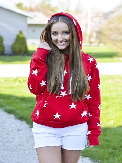 Red Seeing Starts Sweatshirt 16279