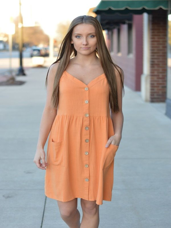 Did You Say Mango Tango Dress 16230