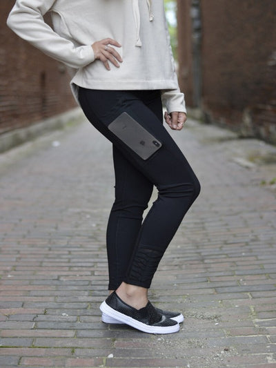 A Jogging in the Park Black Legging  15328