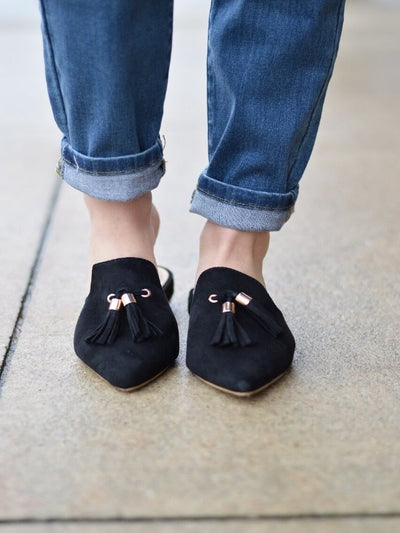 Patsy Charming Black Flat