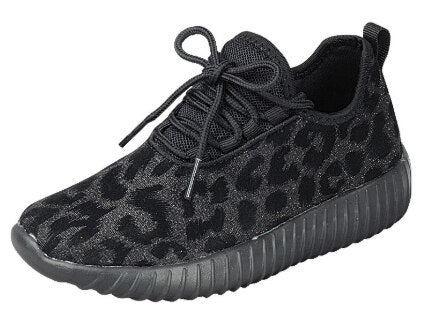Remy Black Animal Print Sneaker 15495