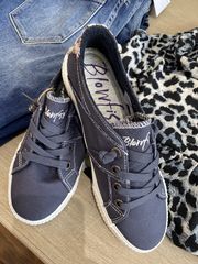 Shania Smoked Blue Sneakers