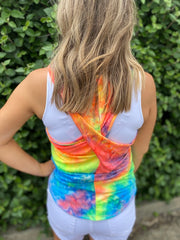 Neon Tie Dyed Tank