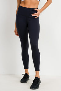 Highwaist Lycra-Blend Essential Legging
