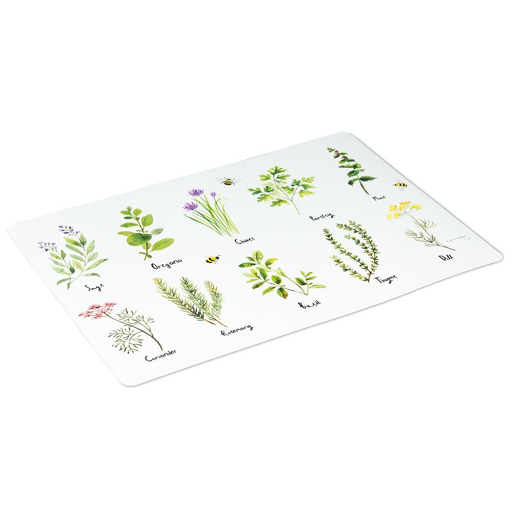 Multi herbs placemat