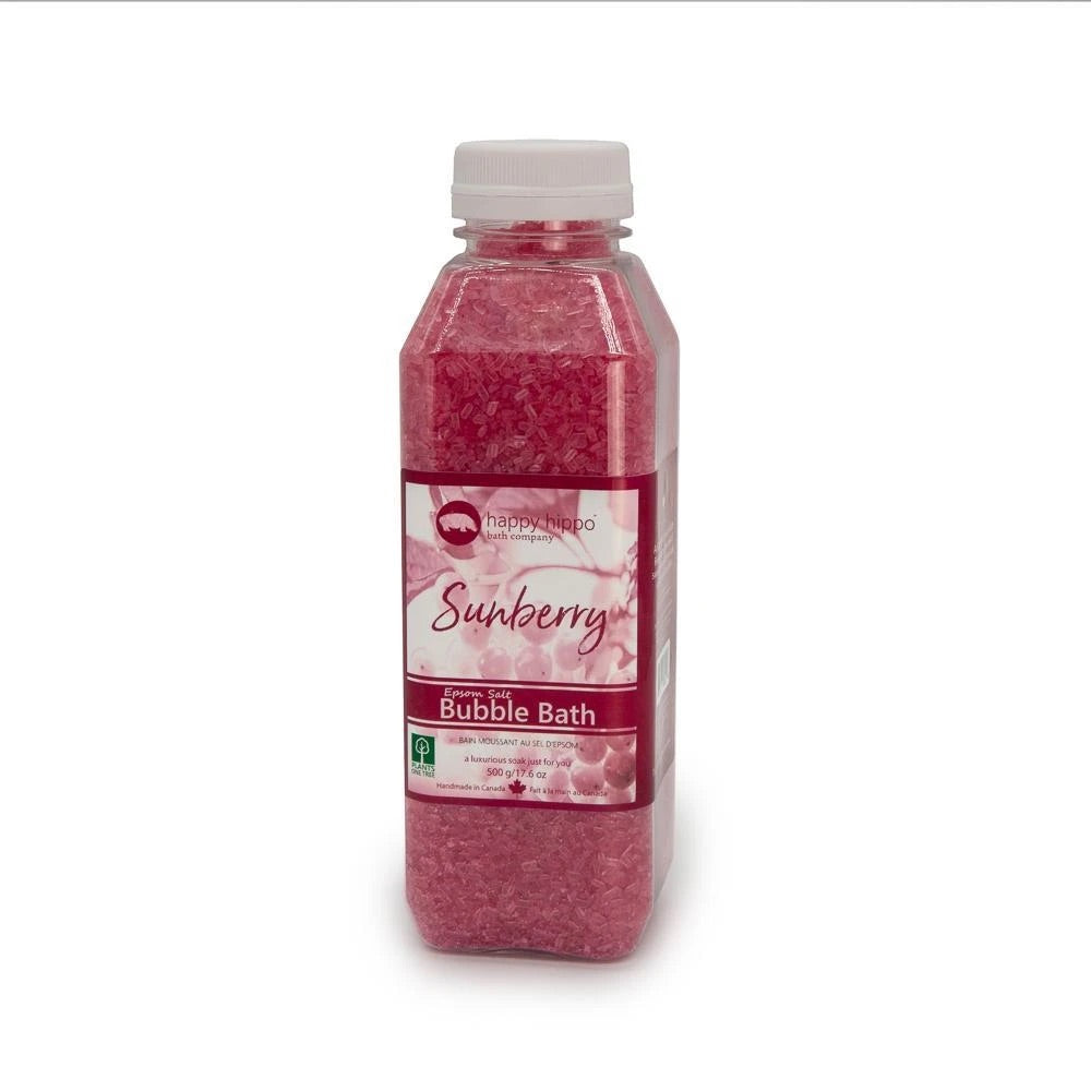 SunBerry Bubble Bath Epsom Salt 500g