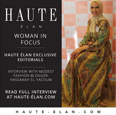 International Luxury Modest Fashion House Haute Elan Interviews PFH