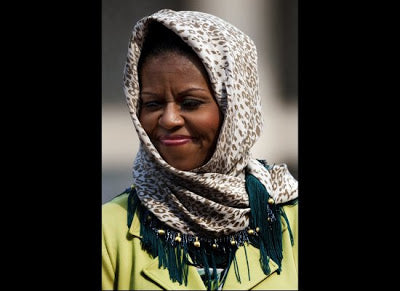 Michelle Obama Dons The Hijab!