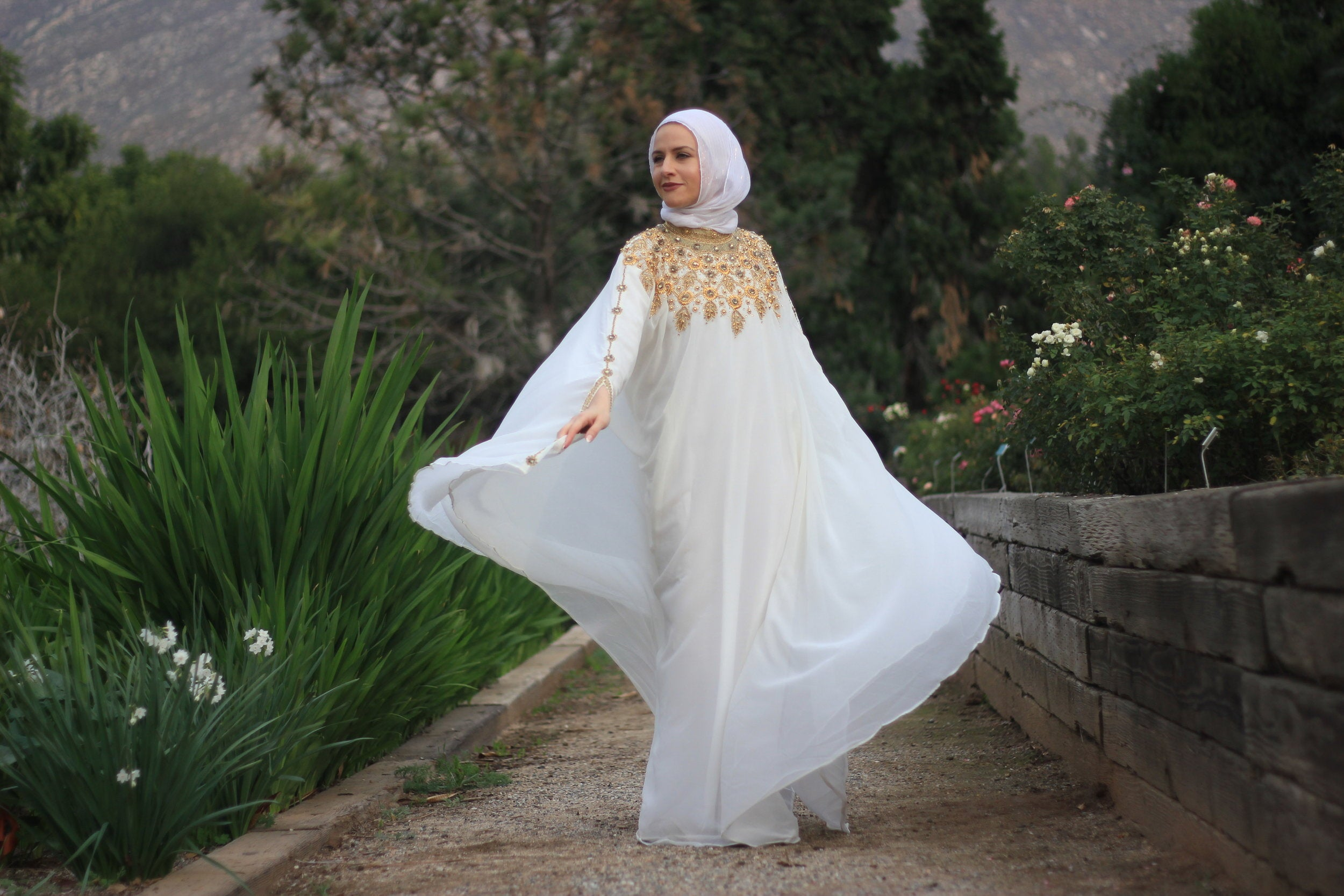 The Perfect White Kaftan