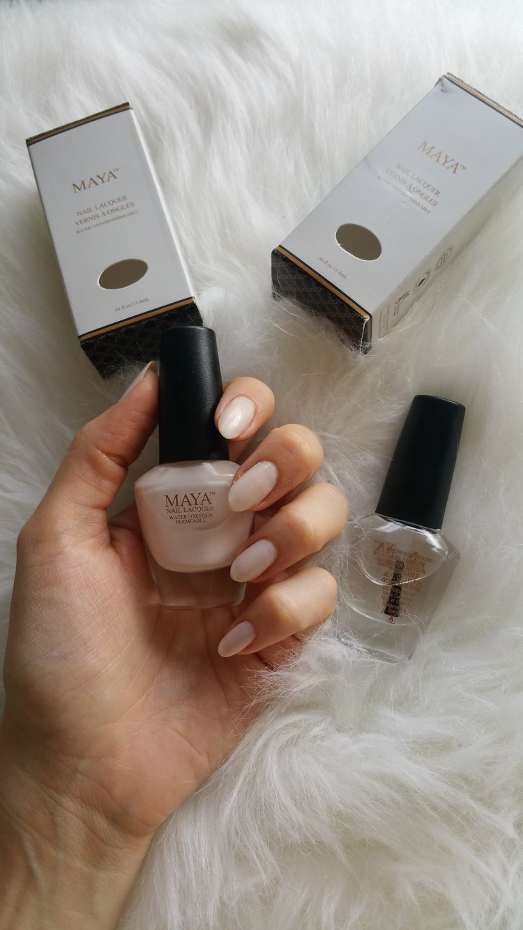 MAYA Cosmetics HALAL Nail Polish Review