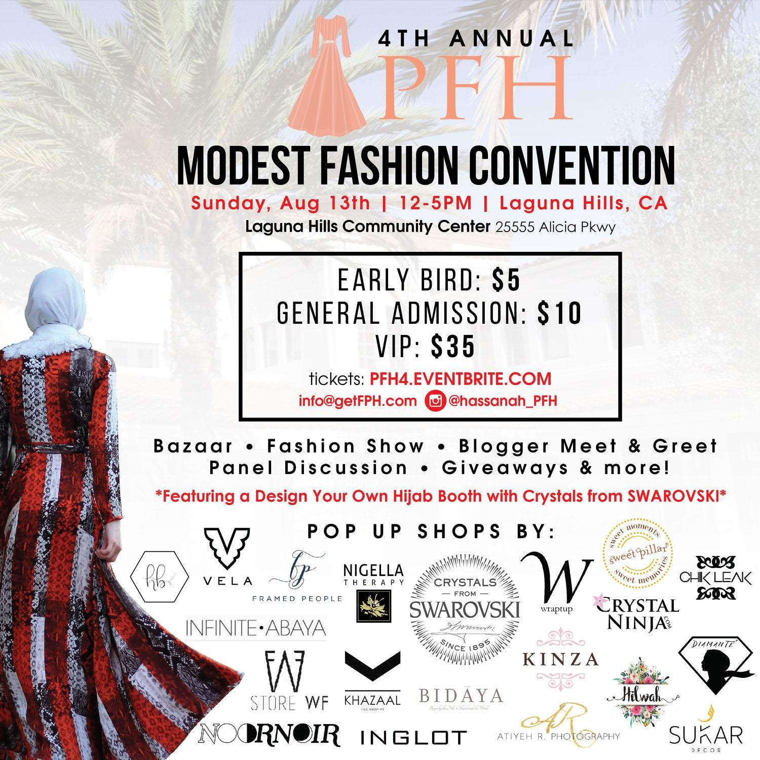 4th Annual PFH Modest Fashion Convention