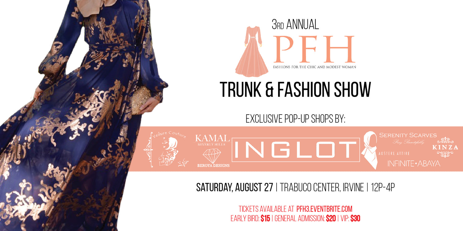 3rd Annual PFH Trunk & Fashion Show