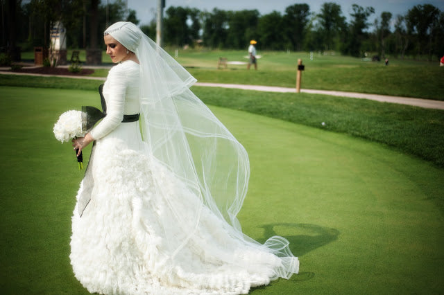 How I PFHed (or Hijabi-fied) My Wedding Gown