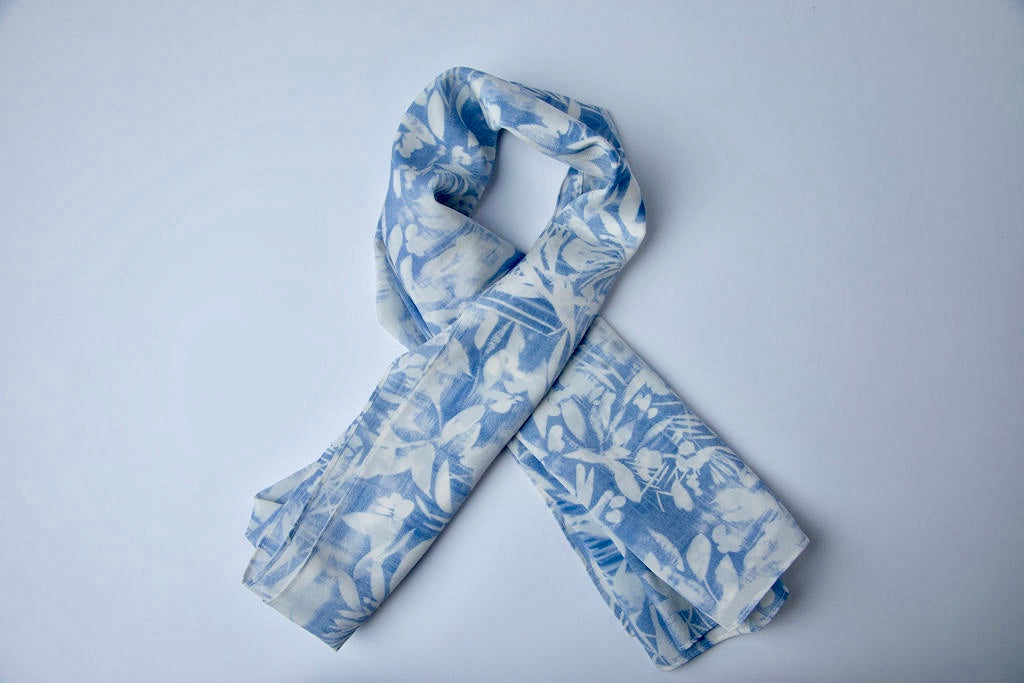 Rainforest Print Hijab
