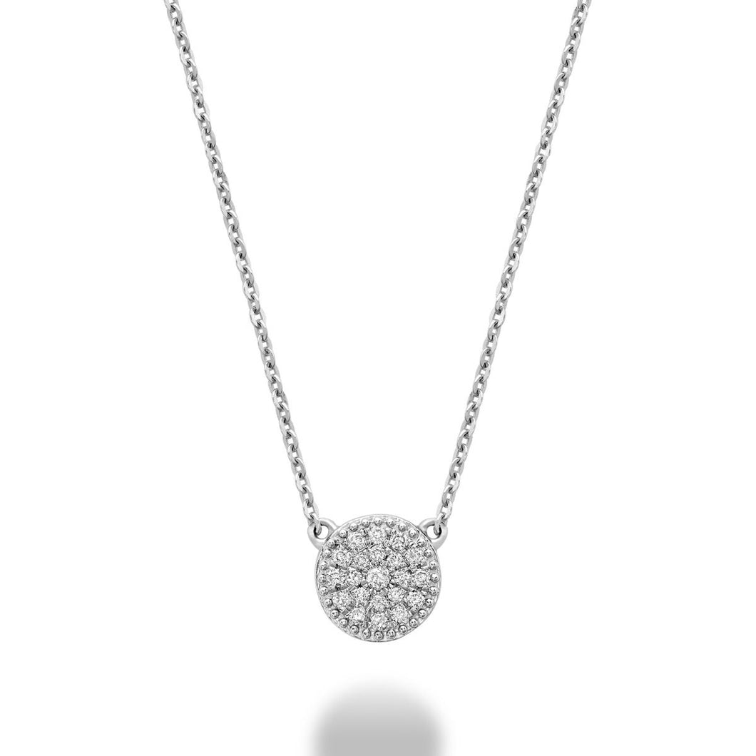 RnB Mini Pavé Diamond Necklace