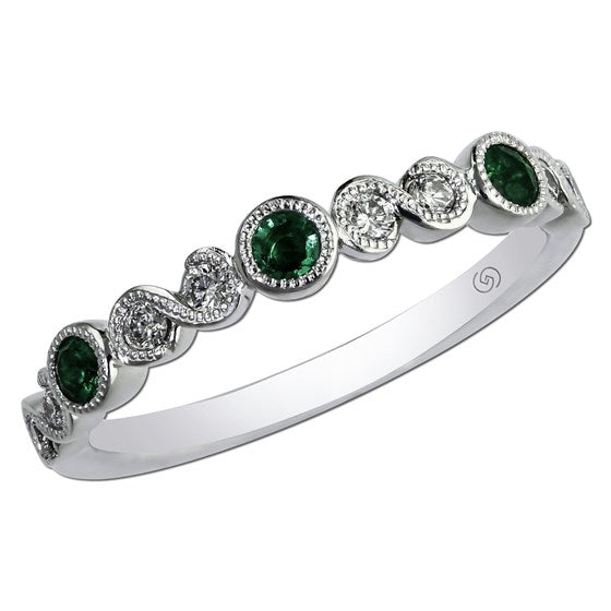 Roset Emerald Stackable Ring