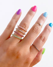 Load image into Gallery viewer, Gabriel & Co. Birthstone Stackable Rings