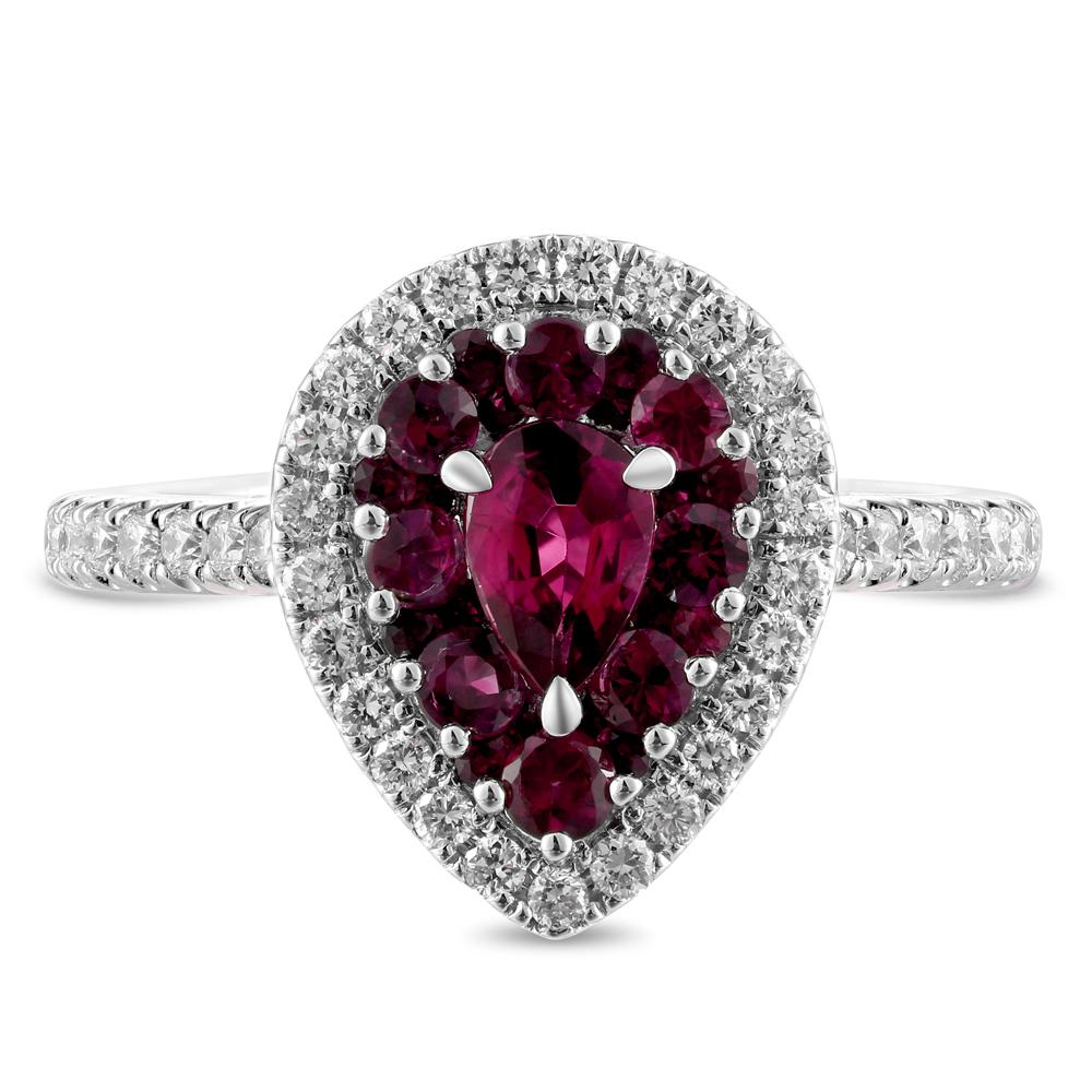 Gregg Ruth 18K Ruby Ring