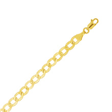 "Load image into Gallery viewer, Roset Gold Label ""Camila"" Hollow Cuban Chain"