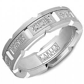 Carlex Luxury Wedding Band CX1-0023WW