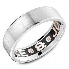 Carlex Luxury Wedding Band CX4-0001W