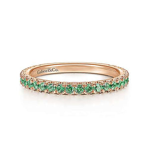 Gabriel & Co. Birthstone Stackable Rings