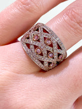 Load image into Gallery viewer, Gottlieb & Sons Pink Diamond Fashion Ring
