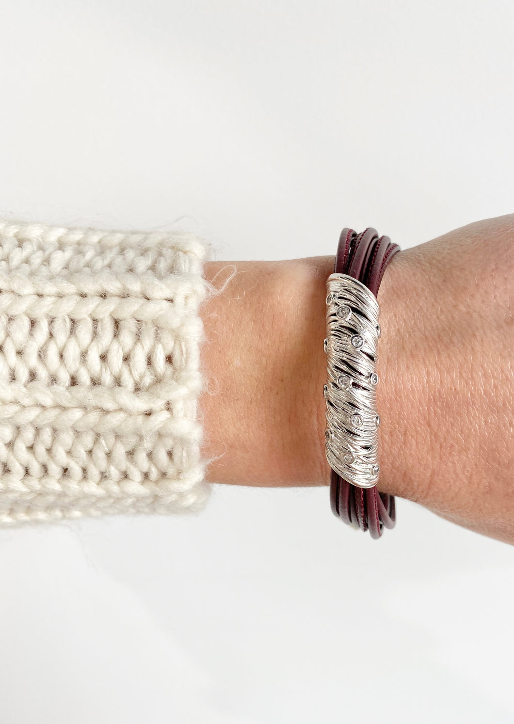 Luca Leather Galassia Bracelet
