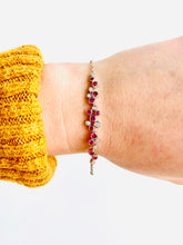 Load image into Gallery viewer, Gregg Ruth 18K Ruby Bracelet