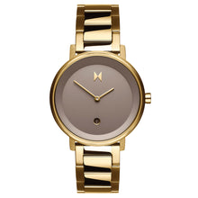 Load image into Gallery viewer, MVMT Women's Watch Champagne Gold Metal Strap