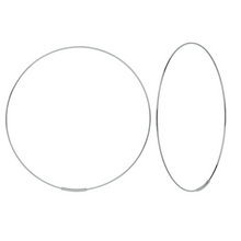 "Load image into Gallery viewer, Roset Gold Label ""Hawley"" Endless Hoop Earrings"