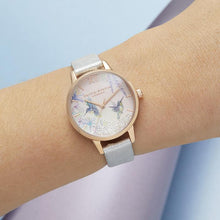 Load image into Gallery viewer, Olivia Burton OB16PP61 Painterly Prints Rose Gold & Floral Women's Watch