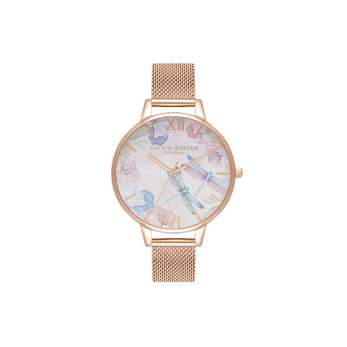 Olivia Burton Painterly Prints Floral Women's Watch