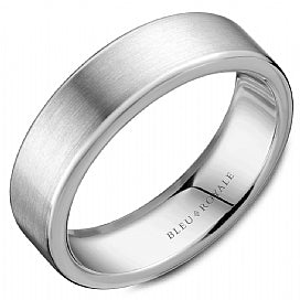 Bleu Royale Wedding Band RYL-037W65