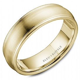 Bleu Royale Wedding Band RYL-039Y65