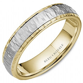 Bleu Royale Wedding Band RYL-045WY55