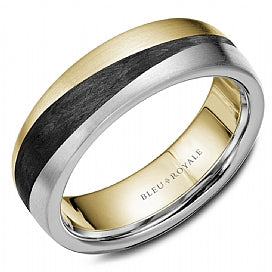 Bleu Royale Wedding Band RYL-051WY7