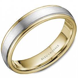 Bleu Royale Wedding Band RYL-058WY55