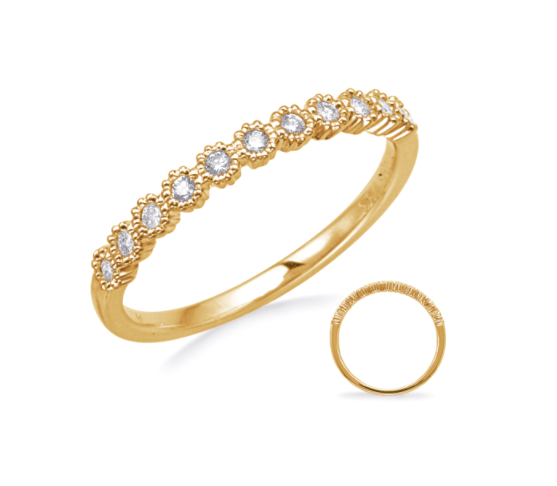 S. Kashi 14K Yellow Gold Stackable Band