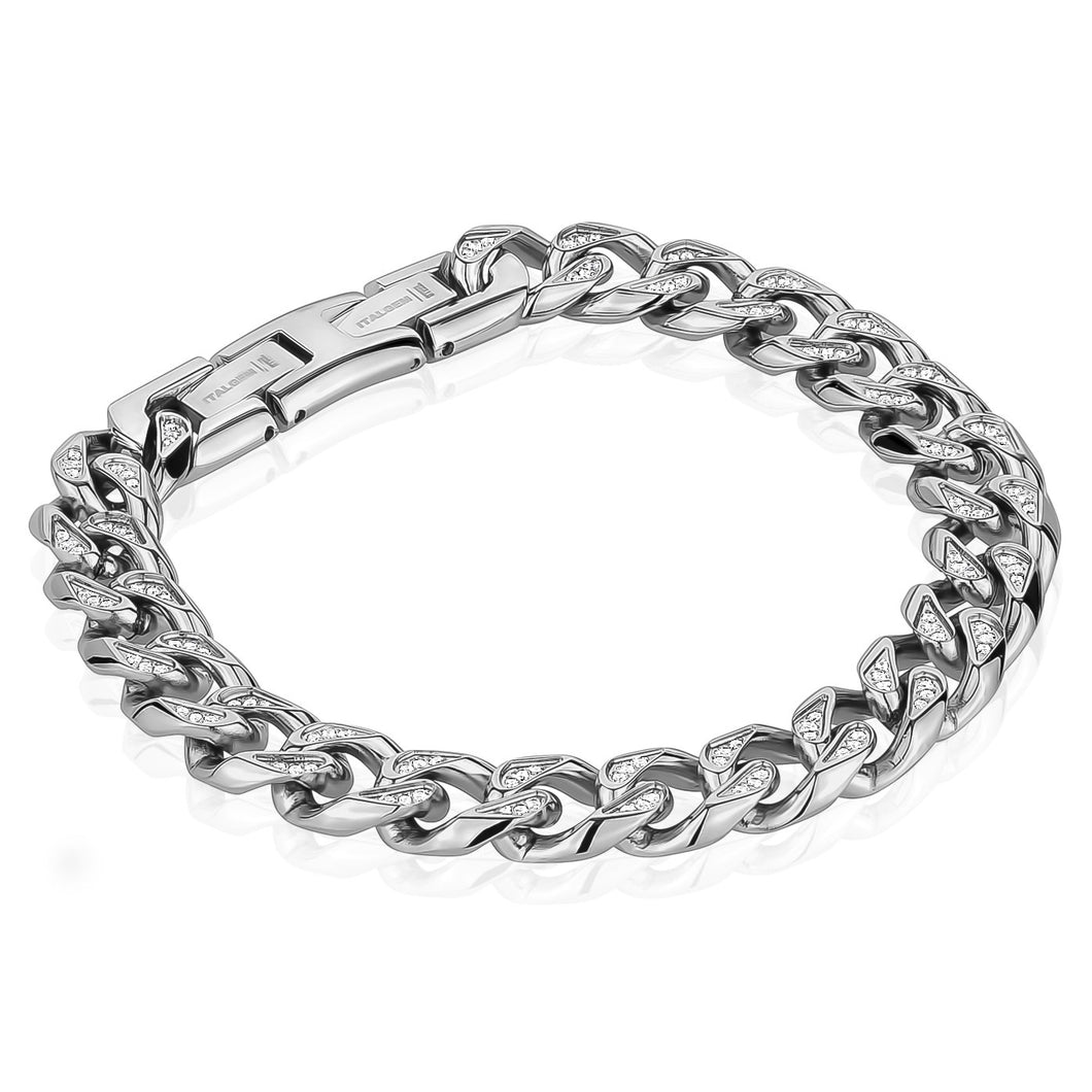 Italgem Steel Stainless Steel Cuban Link 10.5mm 8